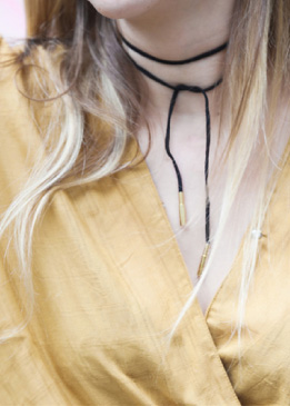 Selbstgemacht: Chokers