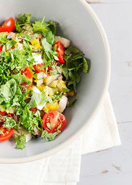 Schnelles Mittagessen: Quinoa Salat