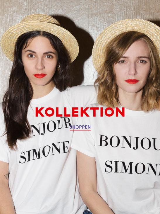 Bonjour Simone - KDG x Jane Wayne Capsule Kollektion