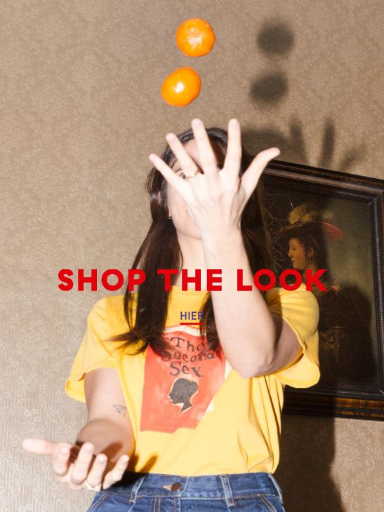 Shop The Look - Unsere Second Sex T-shirt für den Frühling
