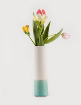 HOUSE DOCTOR Tube Vase mint green