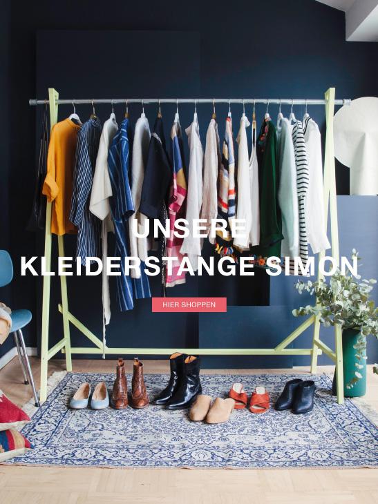Kleiderstange Simon - Jetzt in 3 Farben & 3 Größen