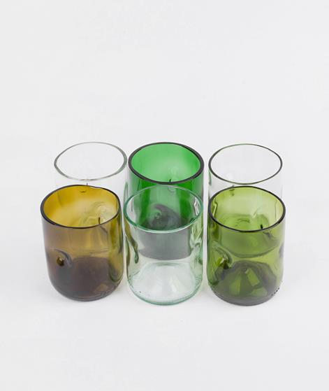 JESPER JENSEN Set of 6 small glasses