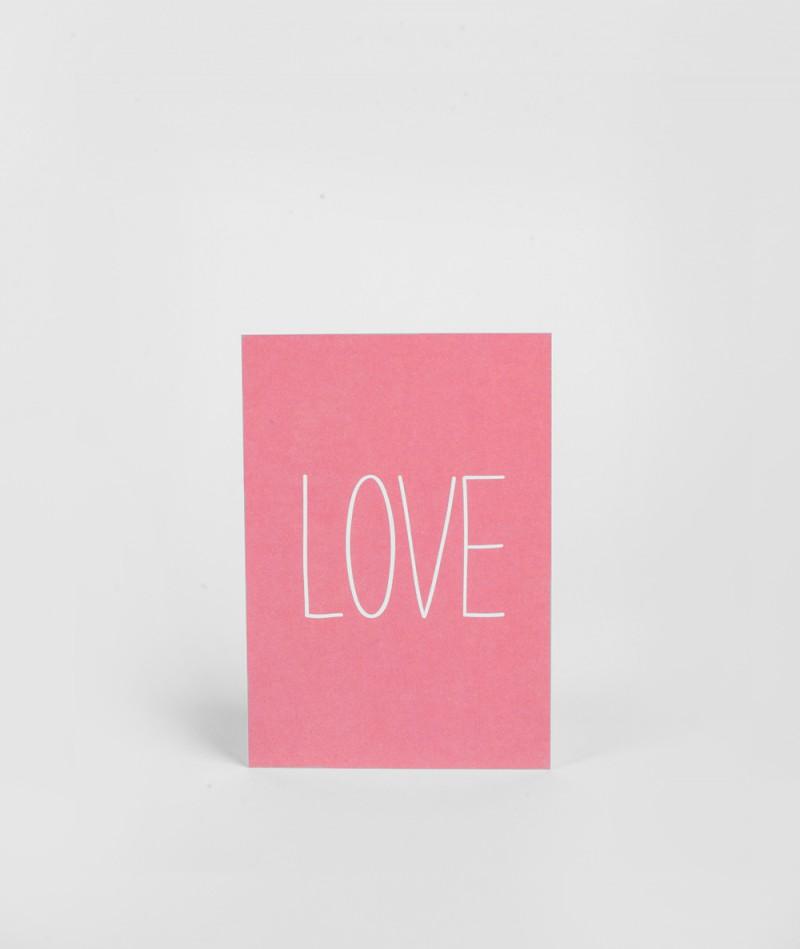 PAPIER AHOI LOVE Postkarte