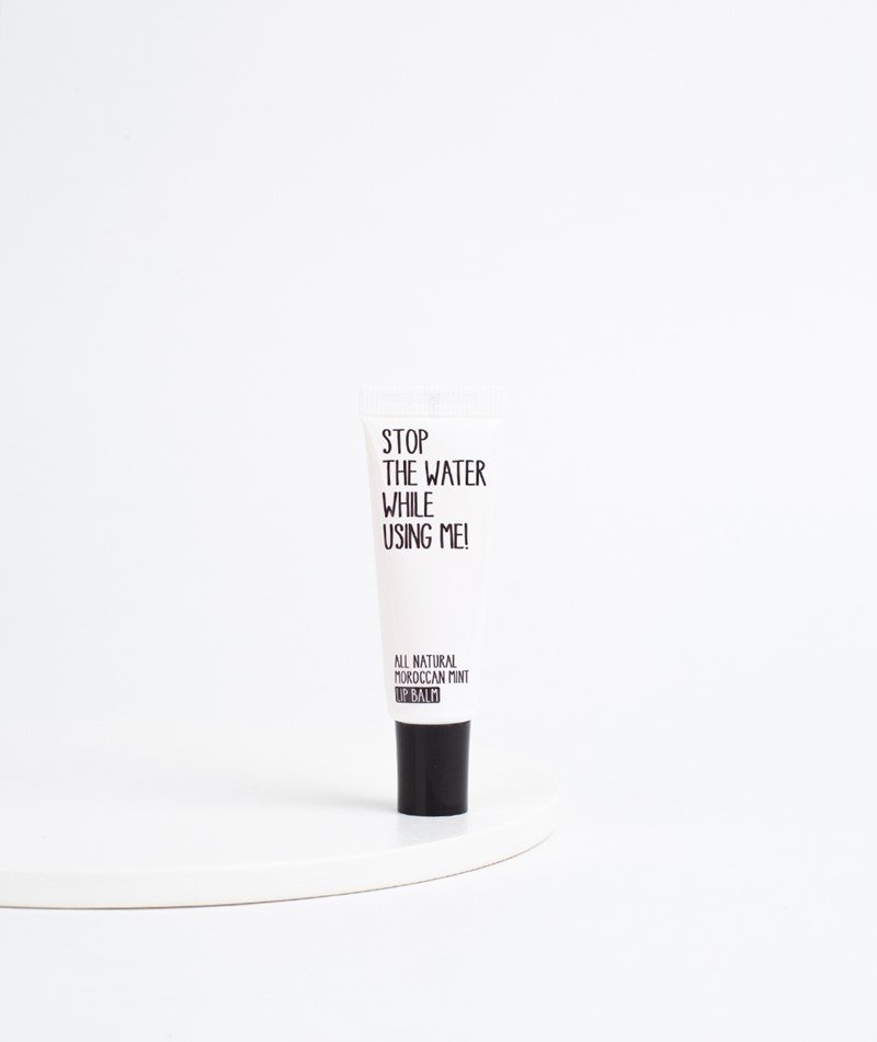 STOP THE WATER Moroccan Mint Lip Balm