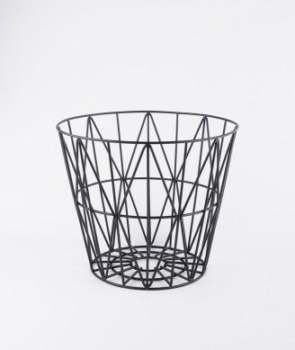 FERM Wire Basket klein schwarz