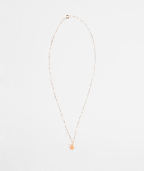 JUKSEREI Lena Necklace dusty orange