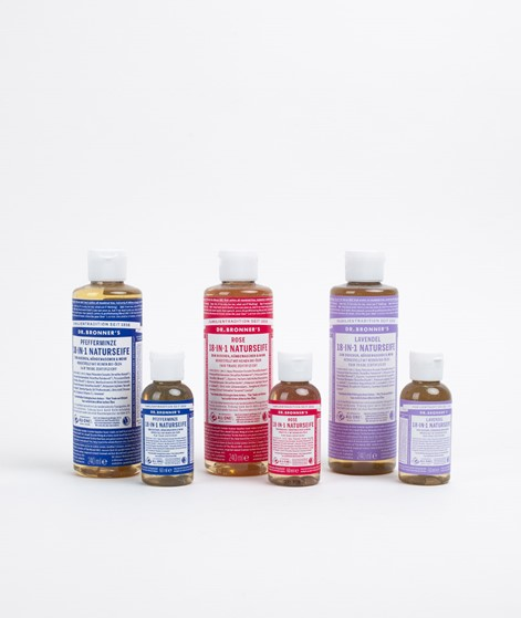 DR.BRONNER`S Liquid Soap Rose s