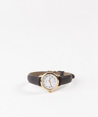TIMEX Easy Reader Uhr schwarz gold