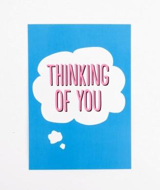 POSTKARTE Thinking of You
