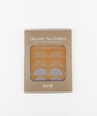 FERM Bridges Tea Towel Geschirrtuch rose