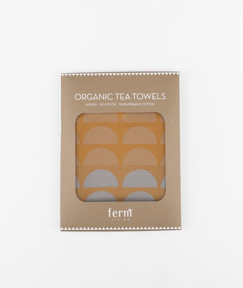 FERM Bridges Tea Towel Geschirrtuch rose