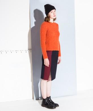 GANNI Ellen Knit Pullover fiesta