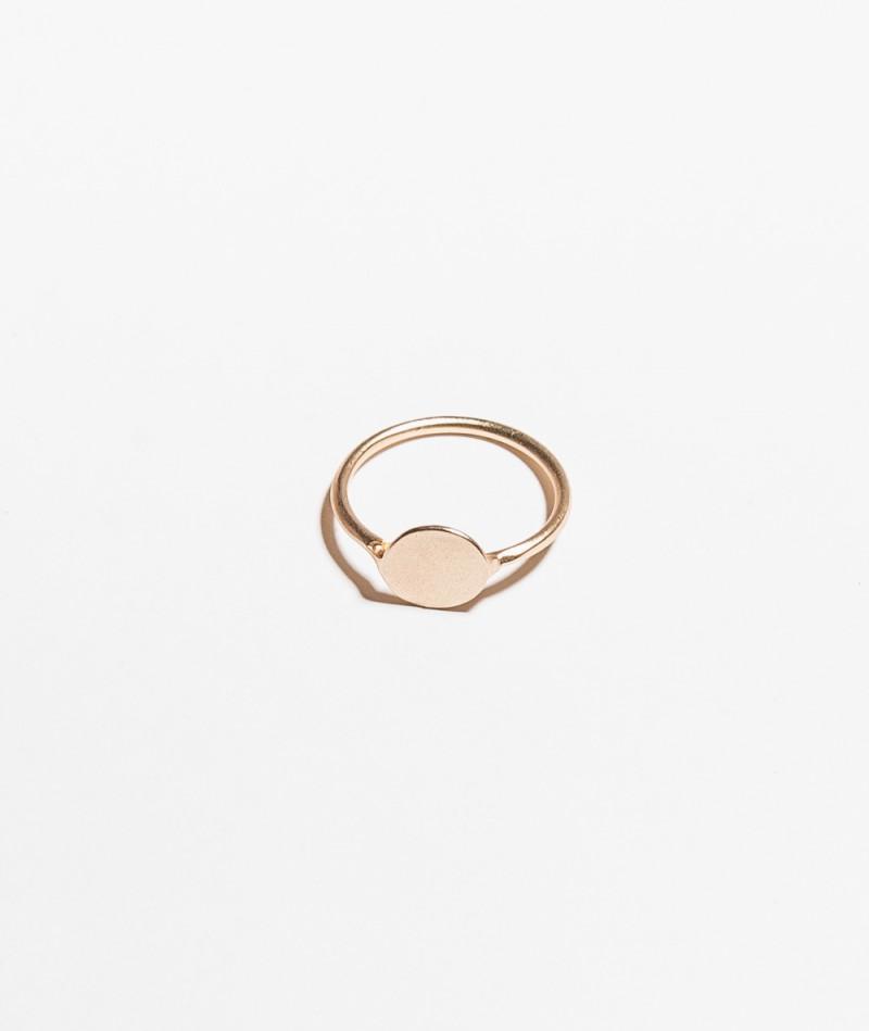 BLIING Soncino Ring matte gold
