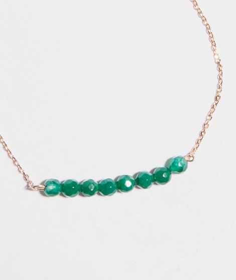 MINT Lucky Eight Stone Armband gold