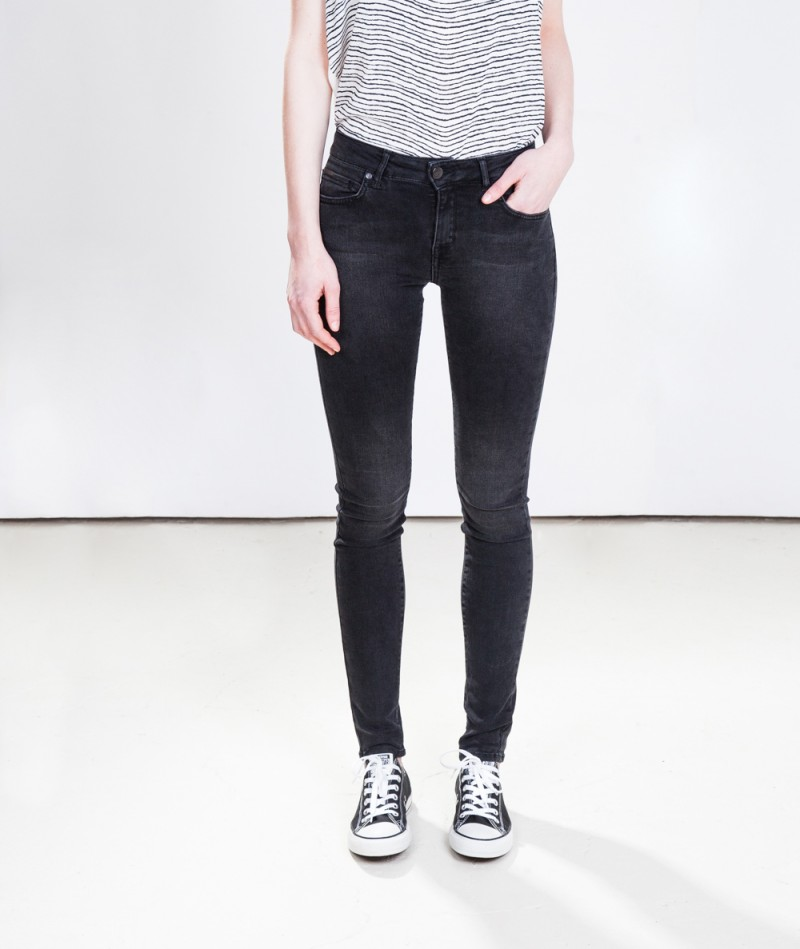 M BY M Dean Jeans black washed