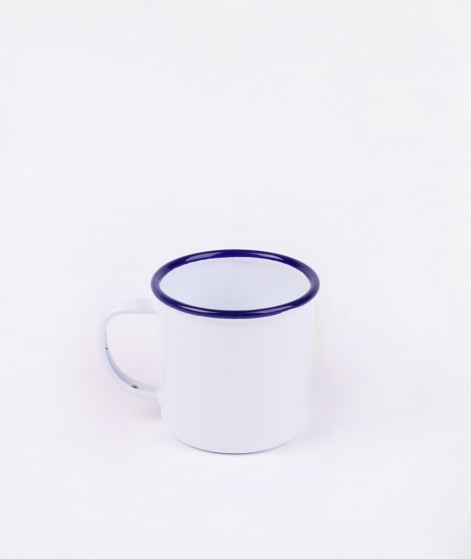 FALCON Mug original white blue