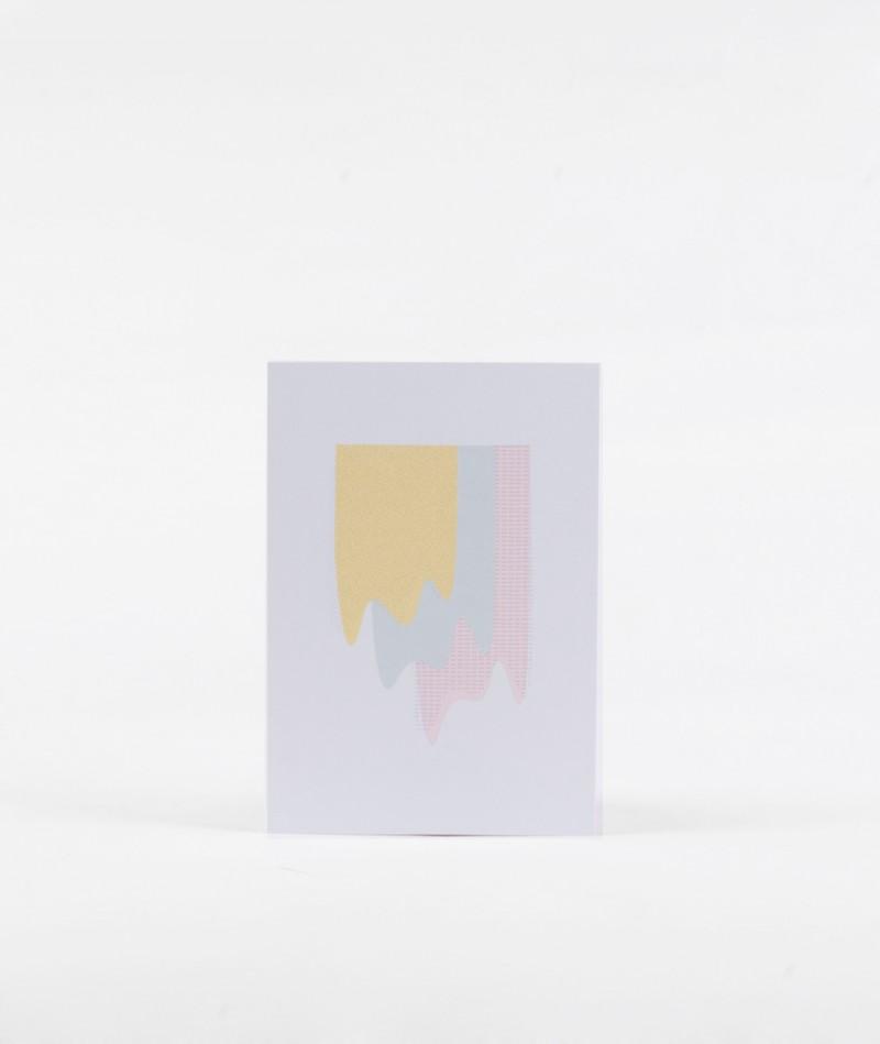 KAUF DICH GL�CKLICH Postkarte Farbmuster