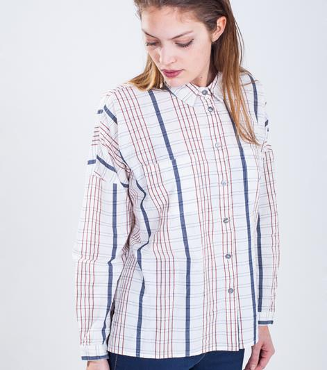 GANNI Venice Beach Bluse cloth check