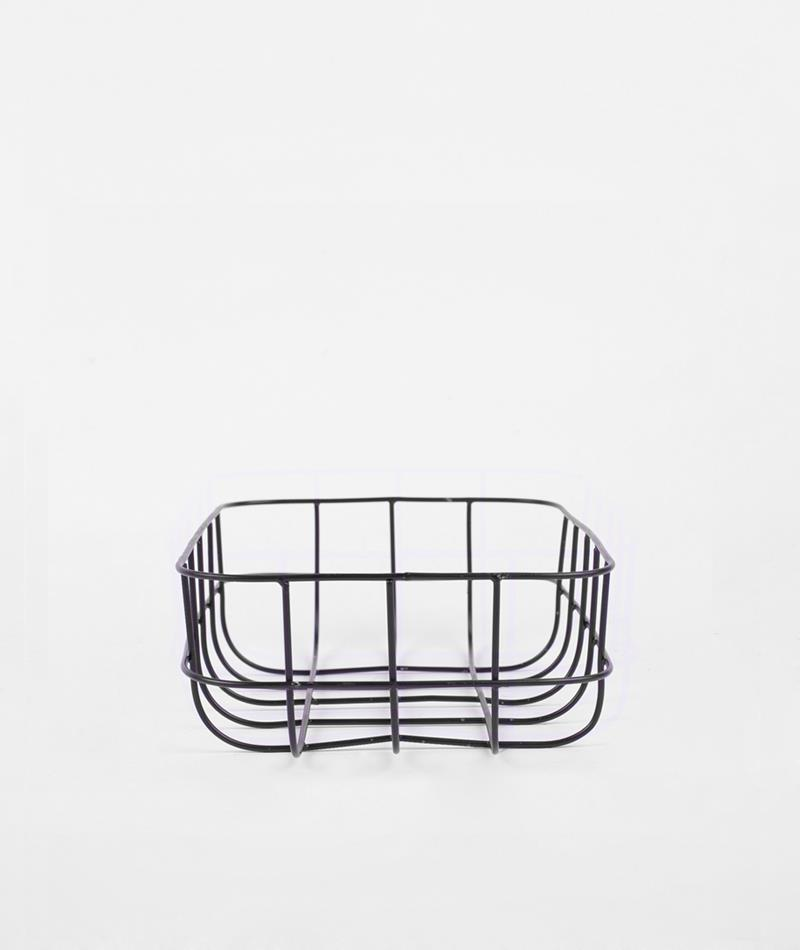 HOUSE DOCTOR Basket simply klein black