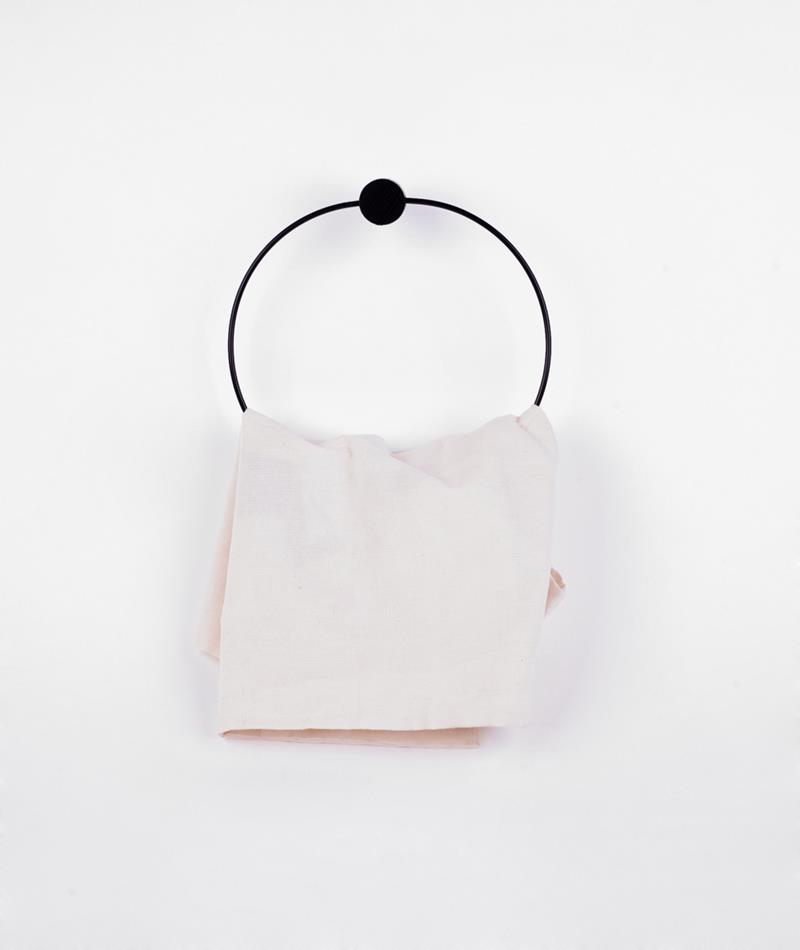 FERM Towel Handtuchhalter schwarz