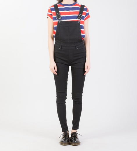 CHEAP MONDAY Dungaree Overall black