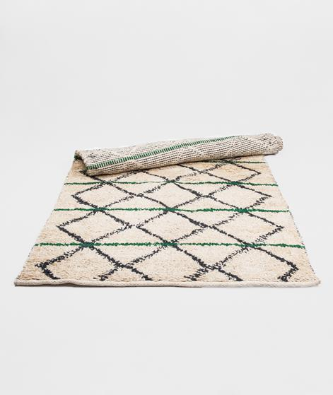 HOUSE DOCTOR Rug Geometry green bl beige