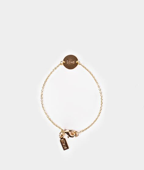 ELLISUE Love Armband gold