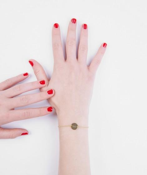 ELLISUE Love Armband gold