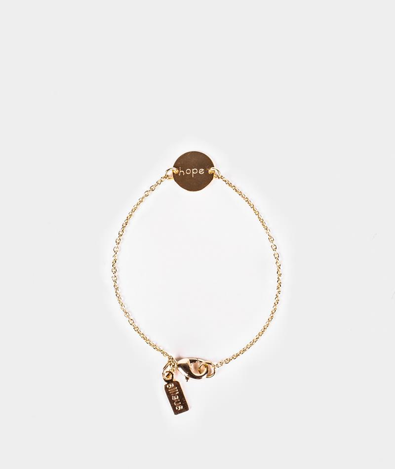 ELLISUE Hope Armband gold