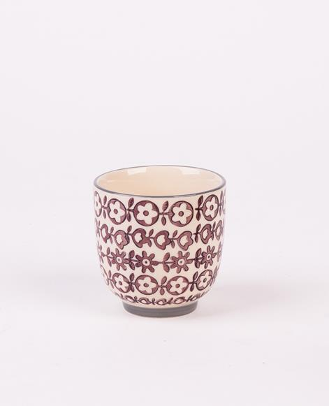 BLOOMINGVILLE Karine Tasse purple