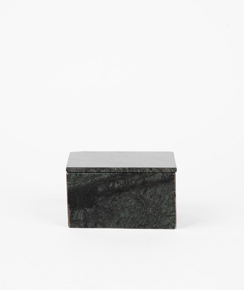 BLOOMINGVILLE Butter Box green marble