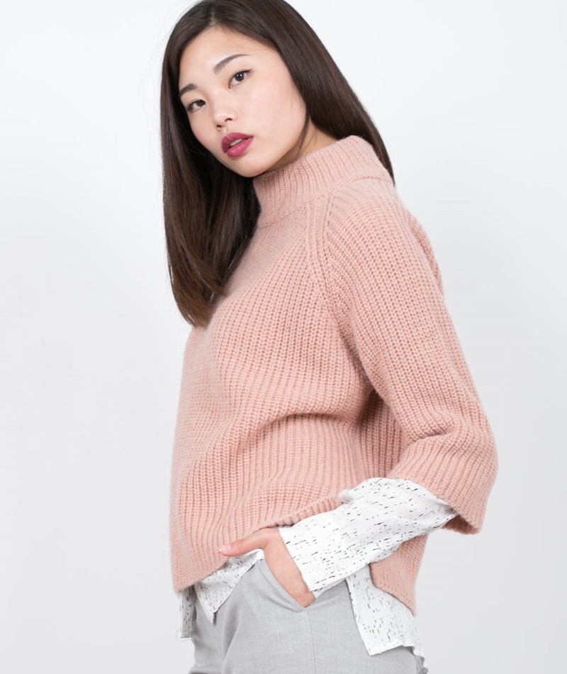 KAUF DICH GL�CKLICH Tuva Pullover rose