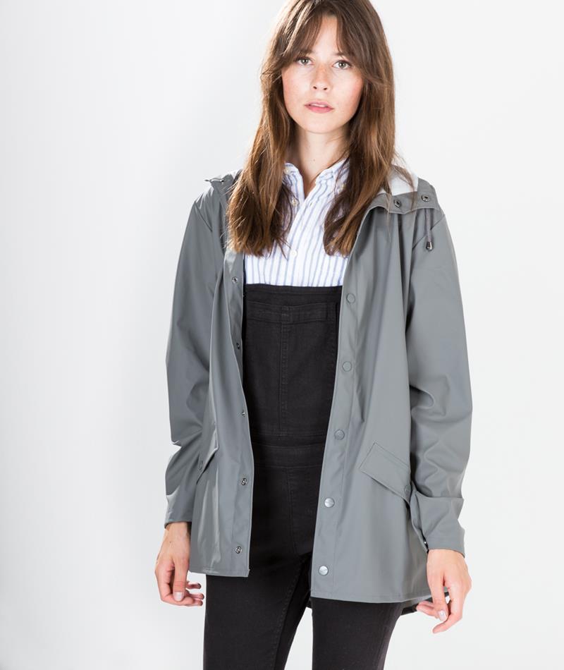 RAINS Jacket Jacke grey