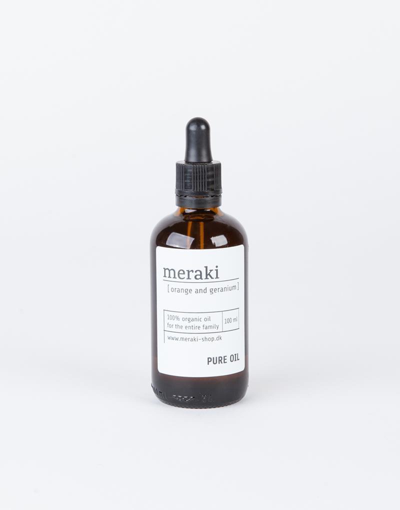 MERAKI Pure Oil orange og geranium 500ml