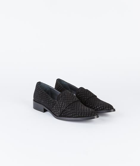 GARDENIA Croco Schuhe croco black