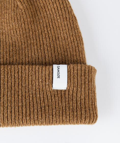 SAMSOE SAMSOE The Beanie M�tze dull gold