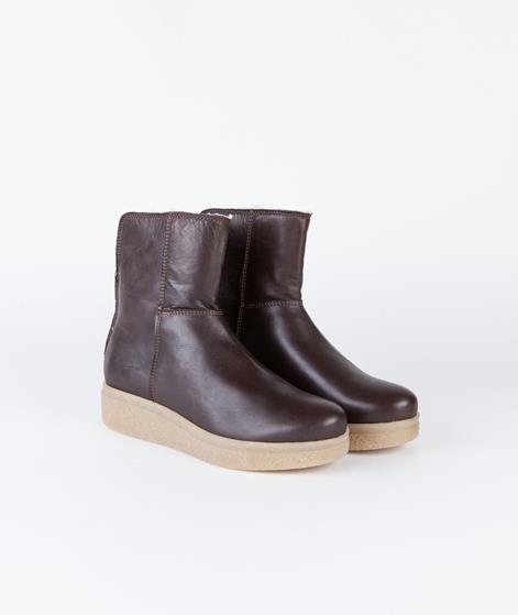 SHOEBIZ Velvet Brown Stiefel brown