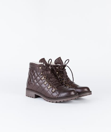 SHOEBIZ Velvet Brown Schn�rstiefel brown