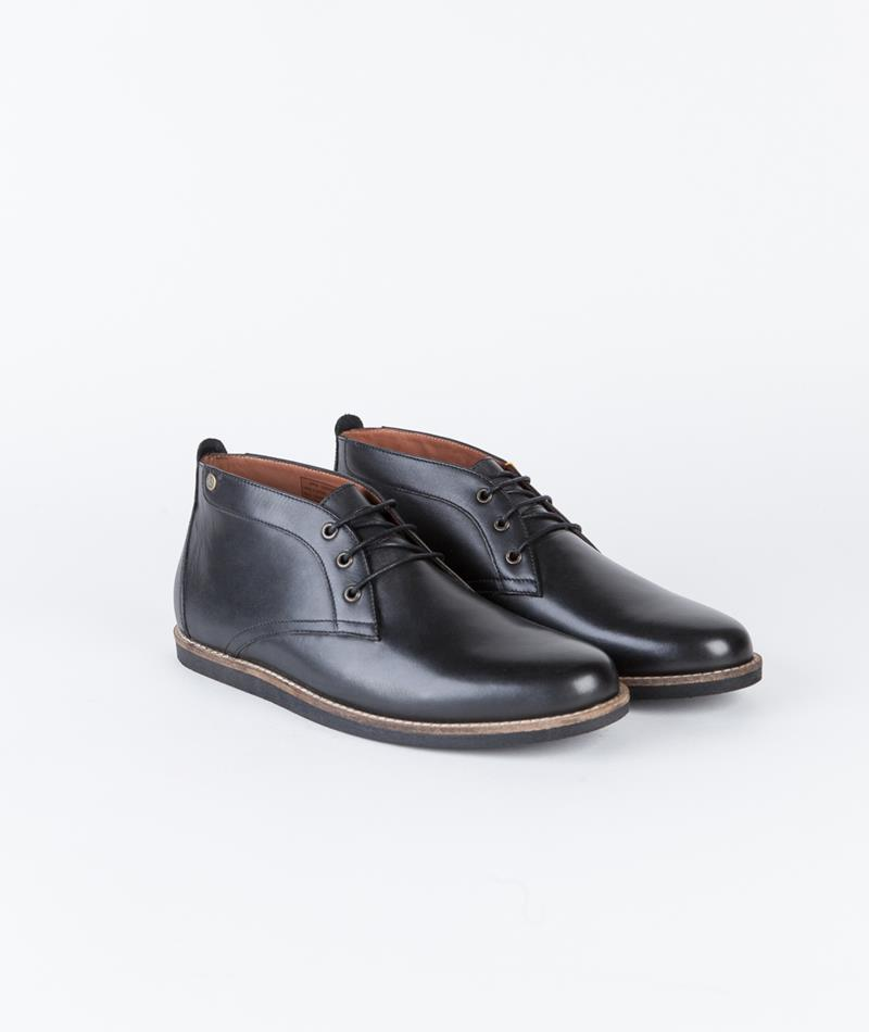 FRANK WRIGHT Gee II black leather