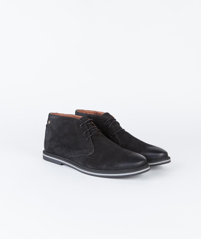 FRANK WRIGHT Barnet II black leather