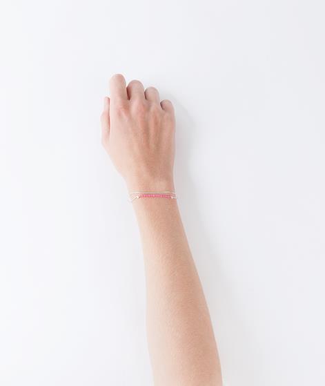 BLIING Narciso Armband silber pink