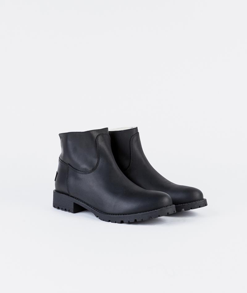 SHOESHIBAR Yrsa Wool Stiefel black