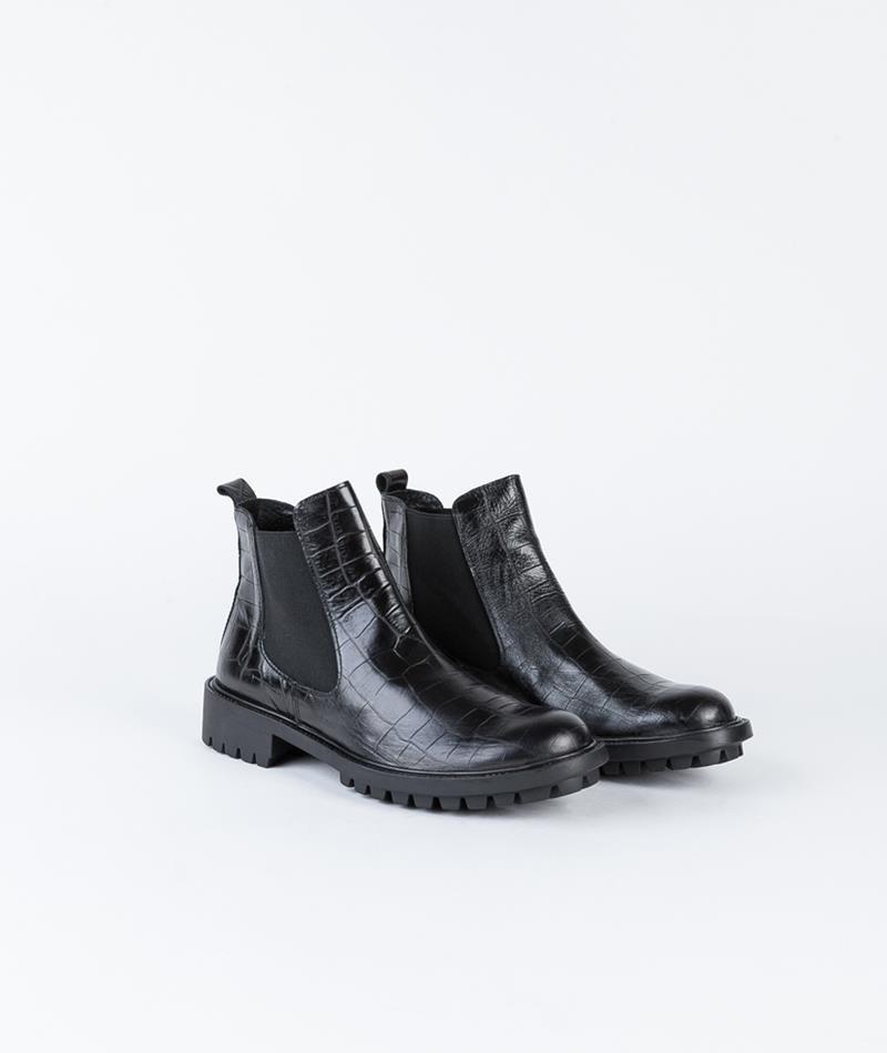 KAUF DICH GLÜCKLICH Cura Boot negro