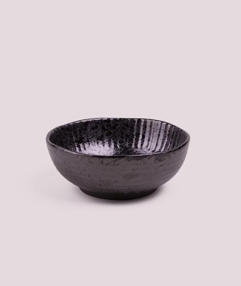 MADAM STOLTZ Stoneware Bowl black