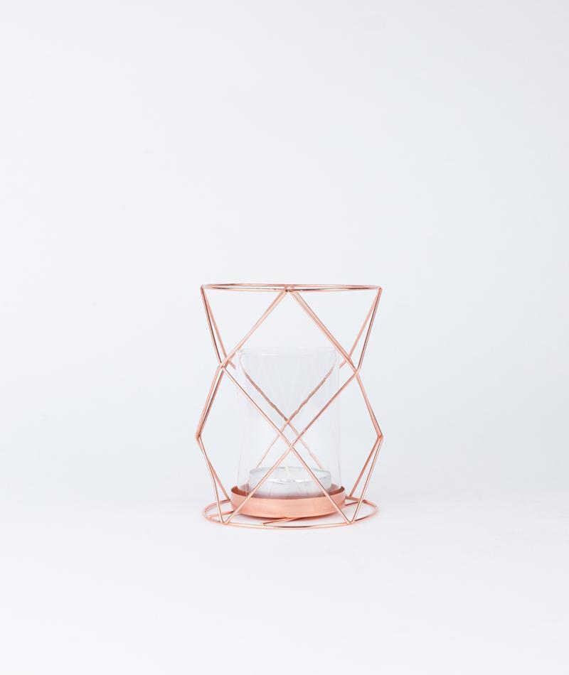 BLOOMINGVILLE Votive glass copper