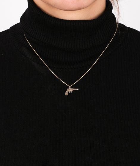 JUKSEREI Necklace with Gun gold