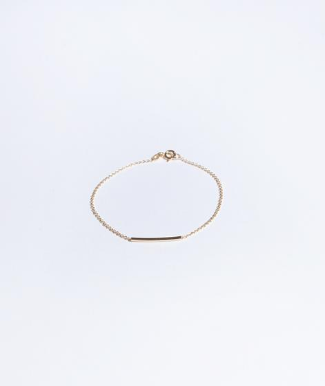 JUKSEREI Pipe Armband gold
