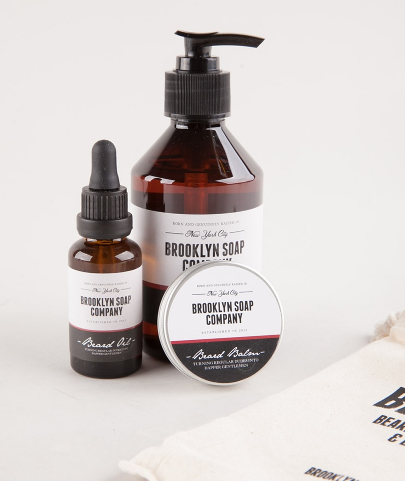 BROOKLYN SOAP COMPANY Beard Kit