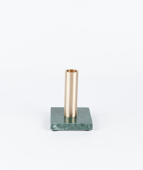 H. SKJALM P. Candle Holder marble/brass